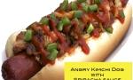 angry kimchi dog